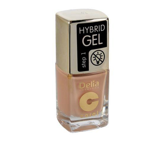 Delia Cosmetics Coral Hybrid Gel Emalia do paznokci nr 42  11ml