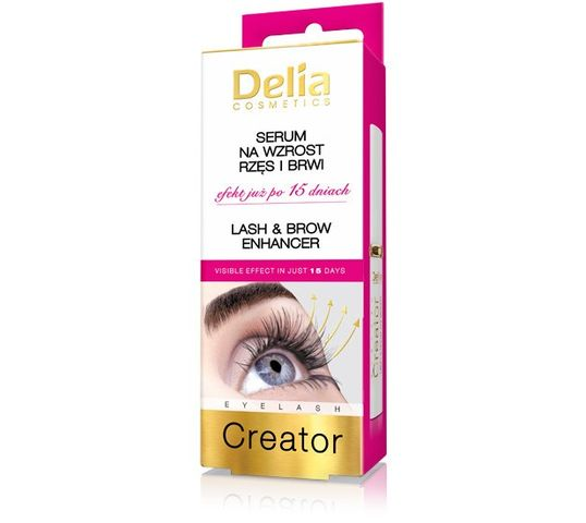 Delia Cosmetics odżywka stymulująca wzrost rzęs i brwi 10 ml