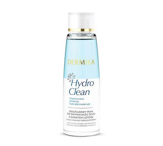 Dermika Hydro Clean Płyn do demakijażu oczu dwufazowy 150 ml