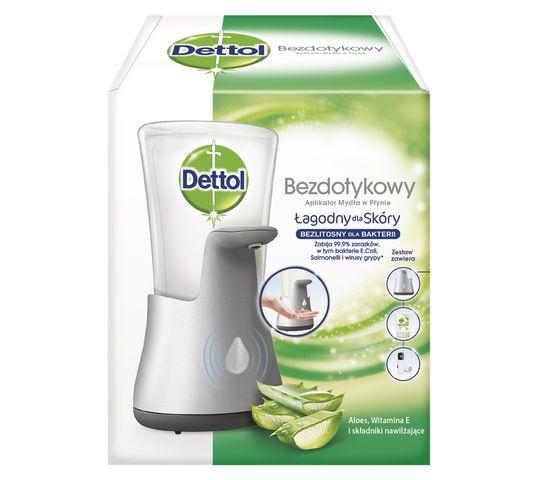 Dettol Aloe Vera bezdotykowe mydło w płynie - komplet (dozownik+wkład)