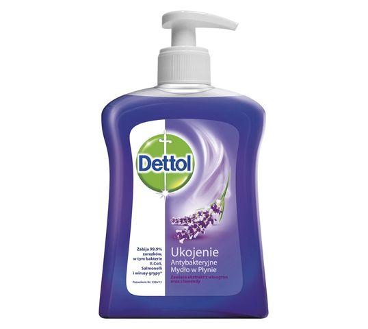 Dettol Ukojenie antybakteryjne mydło w płynie - mydło z pompką 250ml