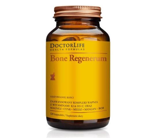 Doctor Life Bone Regenerum zaawansowany kompleks wapnia suplement diety 120 kapsułek