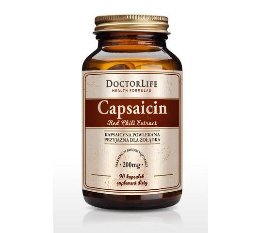 Doctor Life Capsaicin kapsaicyna 200mg suplement diety 90 kapsułek
