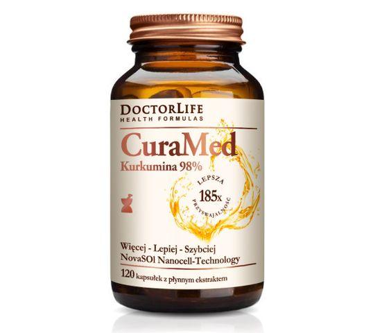 Doctor Life CuraMed NanoCell biodostępna nano kurkuma 720mg suplement diety 120 kapsułek