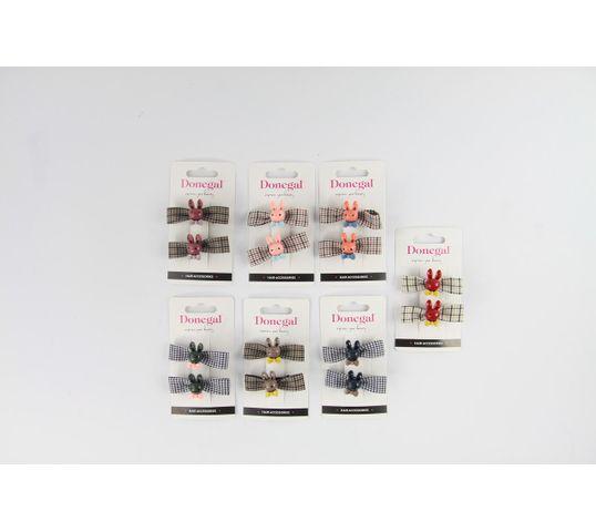 Donegal Ozdoba do włosów gumka FA-5622 mix kolorów (1 szt.)