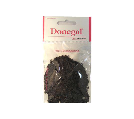 Donegal siatka do włosów gruba brąz ze ściągaczem rozmiar uniwersalny (5905) 1 szt.