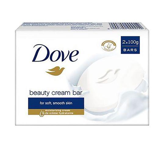 Dove Beauty Cream Bar kremowe mydło w kostce 2x100g