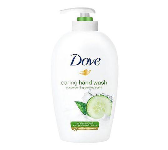 Dove Caring Hand Wash Cucumber & Green Tea Scent pielęgnujące mydło w płynie 250ml