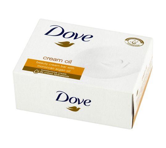 Dove Cream Oil mydło w kostce do każdego typu skóry kremowe 100 g