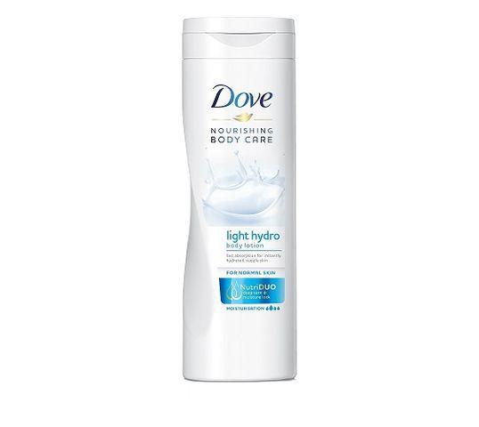 Dove Nourishing Body Care Light Hydro Body Lotion balsam do ciała 400ml