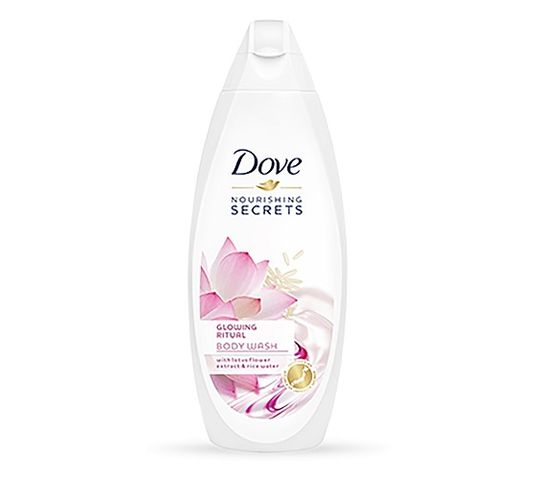 Dove Nourishing Secrets Glowing Ritual Body Wash żel pod prysznic Lotus Flower Extract & Rice Water 250ml