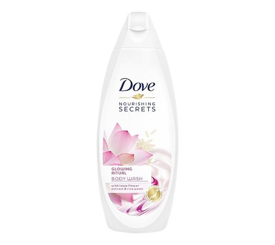 Dove Nourishing Secrets Glowing Ritual Body Wash żel pod prysznic Lotus Flower Extract & Rice Water 750ml