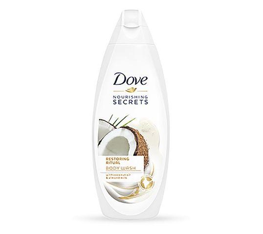 Dove Nourishing Secrets Restoring Ritual Body Wash żel pod prysznic Coconut Oil & Almond Milk 250ml