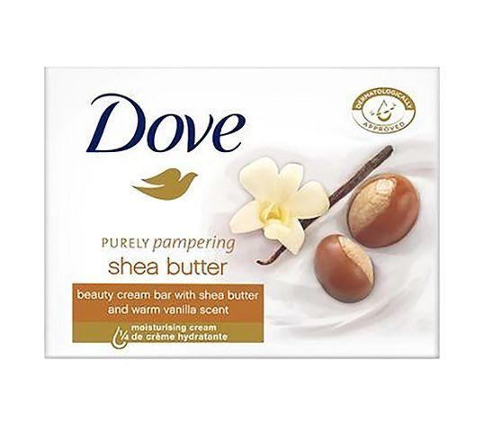 Dove Purely Pampering kremowe mydło w kostce Masło Shea z Wanilią 100g