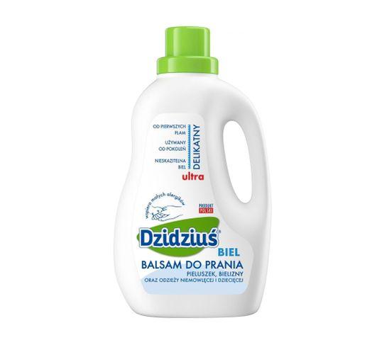 Dzidziuś balsam do prania ubrań dziecięcych i niemowlęcych biel 1.5 l