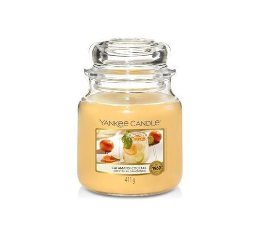 Yankee Candle – Świeca zapachowa średni słój Calamansi Cocktail (411 g)