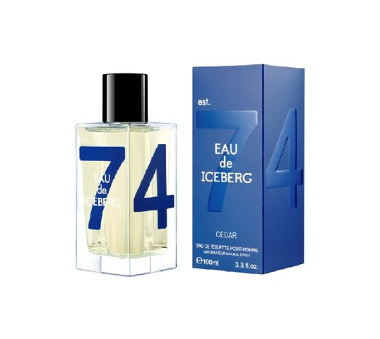 Eau de Iceberg Cedar Pour Homme woda toaletowa spray 100ml