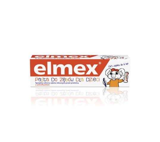 Elmex pasta do zębów dla dzieci 0 do 6 lat 50 ml