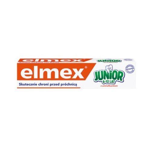 Elmex – Pasta do zębów dla dzieci Junior 6-12 lat  (75 ml)
