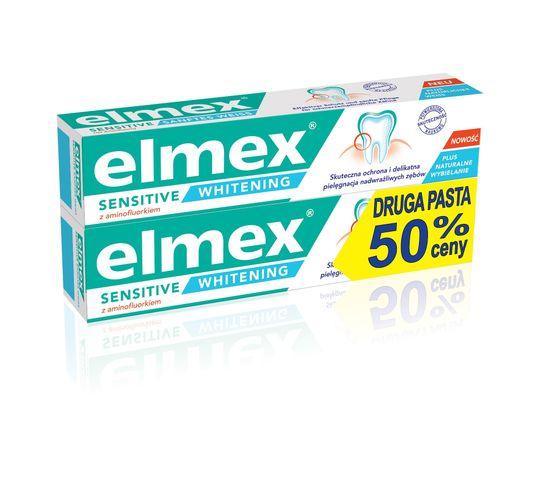 Elmex Sensitive Whitening pasta do zębów wybielająca 75 ml x 2