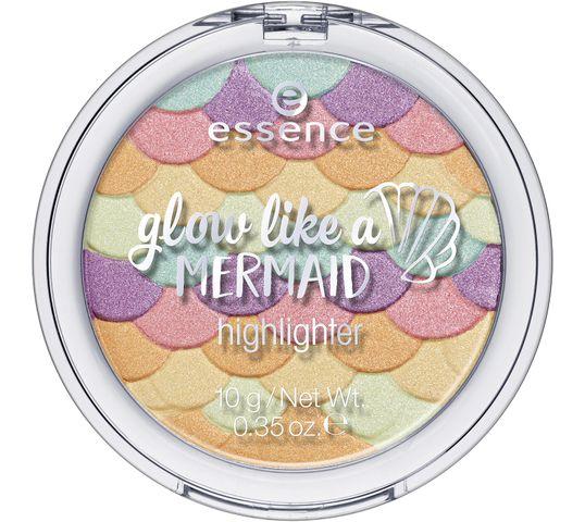 Essence Glow Like A Meremaid Hlighlighter rozświetlacz do twarzy 10 Forever Meramaid 10g
