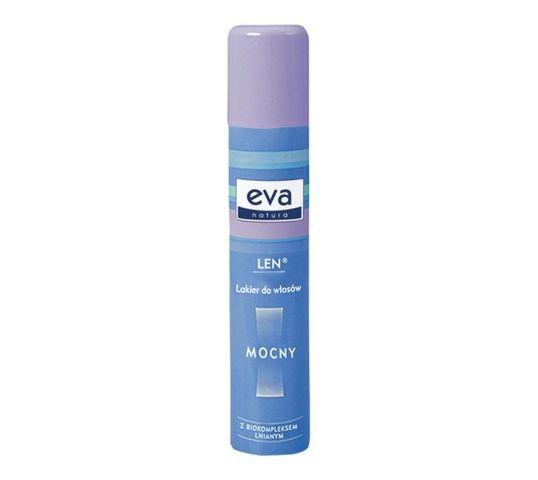 Eva Natura Lakier do włosów mocny z biokompleksem lnianym (200 ml)