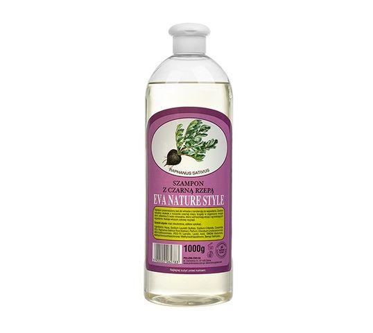 Eva Nature Style Szampon do włosów z ekstraktem z czarnej rzepy - włosy wypadające (1000 g)