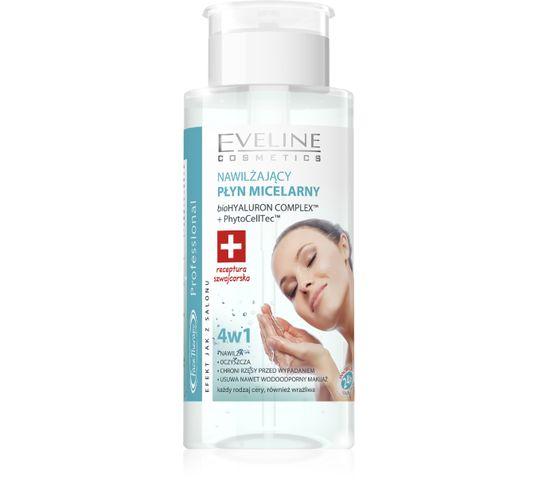 Eveline Face Therapy (nawilżający płyn micelarny 4w1 do twarzy z pompką 100 ml)