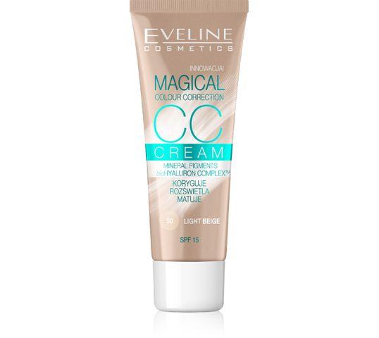 Eveline Magical CC Cream – fluid do twarzy nr 50 Jasny Beż (30 ml)