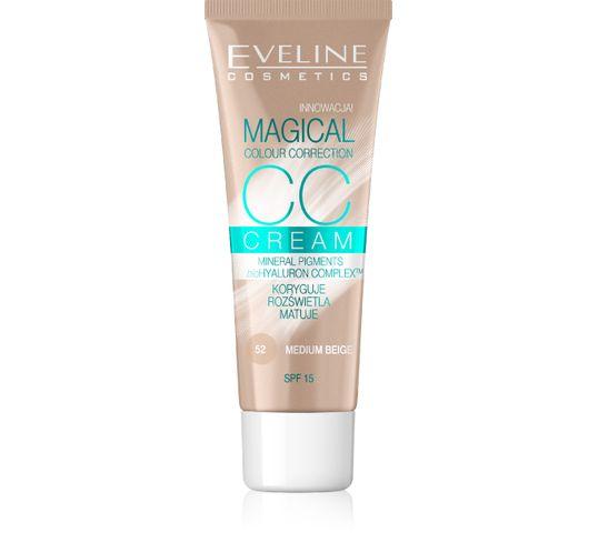 Eveline Magical CC Cream – fluid do twarzy nr 52 Średni Beż (30 ml)
