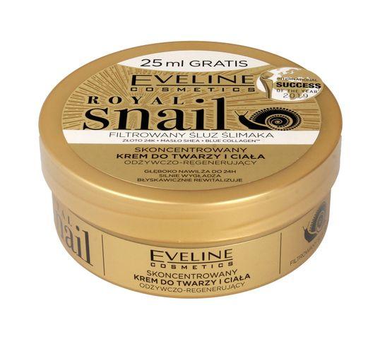 Eveline Royal Snail – skoncentrowany krem do twarzy i ciała (200 ml)