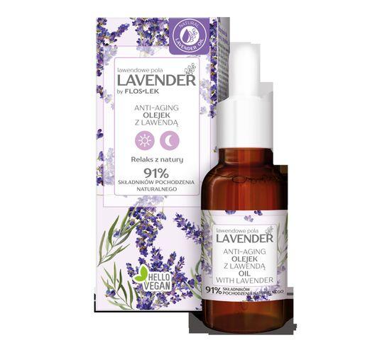 Floslek Lavender lawendowe pola Anti-Aging Olejek z lawendą (30 ml)
