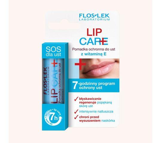 Floslek Lip Care  Pomadka ochronna do ust z 1 procentem witaminy E 15 g