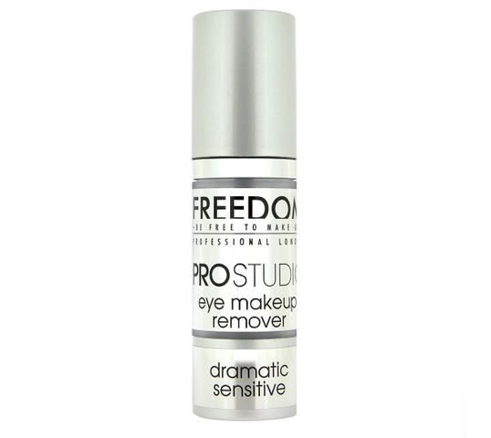 Freedom Pro Studio Dramatic Sensitive Eye Makeup Remover Żel do demakijażu oczu 30 ml
