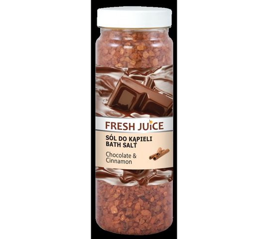 Fresh Juice Sól do kąpieli Chocolate & Cinnamon 700 g