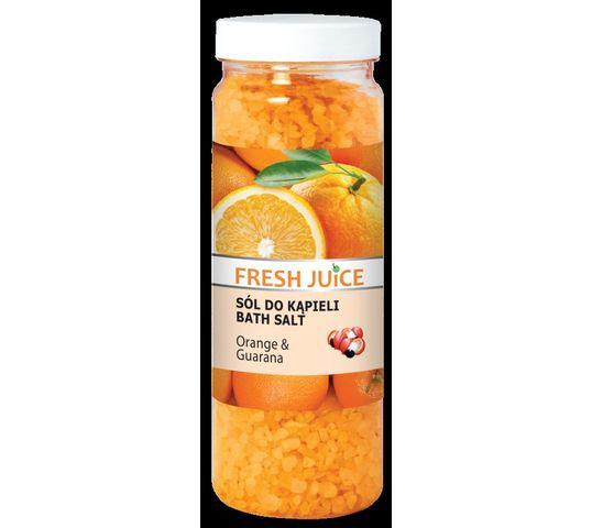 Fresh Juice Sól do kąpieli Orange & Guarana 700 g