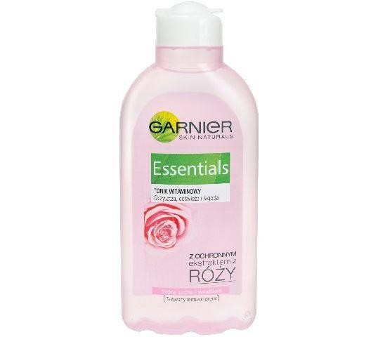 Garnier Essentials Tonik witaminowy do cery suchej i wrażliwej z ekstraktem z róży 200 ml