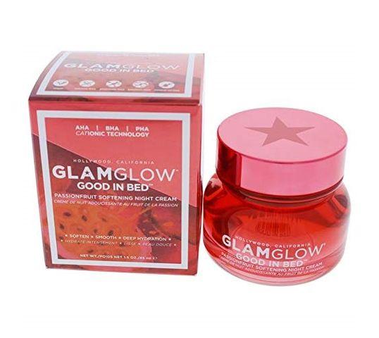 GlamGlow Good in Bed Passionfruit Softening Night Cream wygładzający krem na noc 45ml