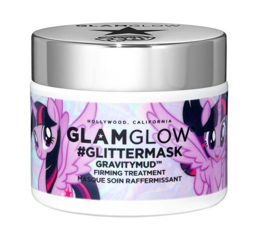 GlamGlow My Little Pony Glittermask Gravitymud Firming Treatment maseczka ujędrniająca Twilight Sparkle 50g