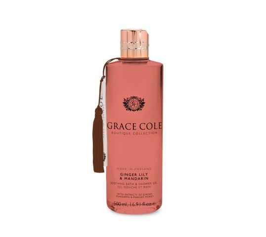 Grace Cole Boutique Bath & Shower Gel żel do kąpieli i pod prysznic Ginger Lily & Mandarin 500ml