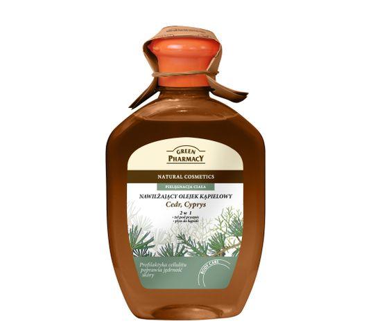 Green Pharmacy olejek kąpielowy Cedr Cyprys (250 ml)