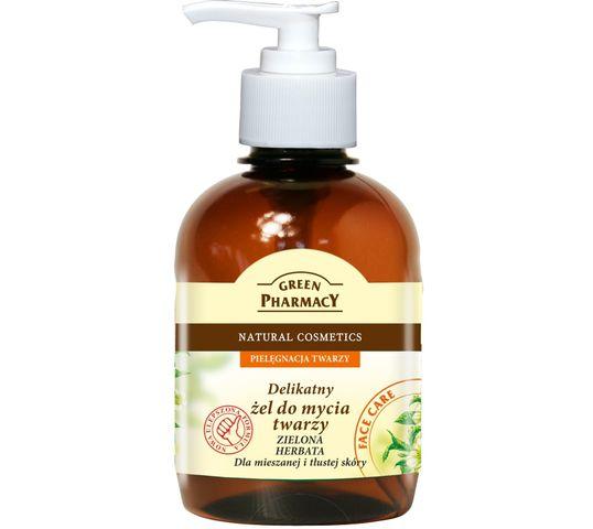 Green Pharmacy Zielona Herbata Żel do mycia twarzy do skóry normalnej i tłustej 270 ml