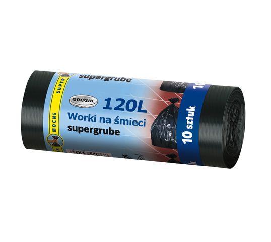 Grosik worki na śmieci LD 120 l/10 szt.