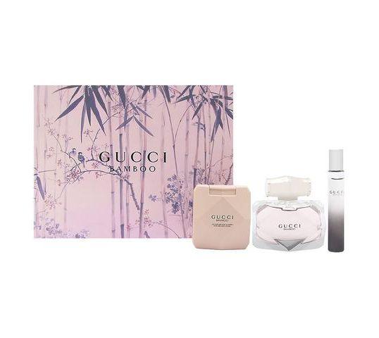 Gucci Bamboo zestaw woda perfumowana spray 75ml + balsam do ciała 100ml + miniatura wody perfumowanej 7,4ml