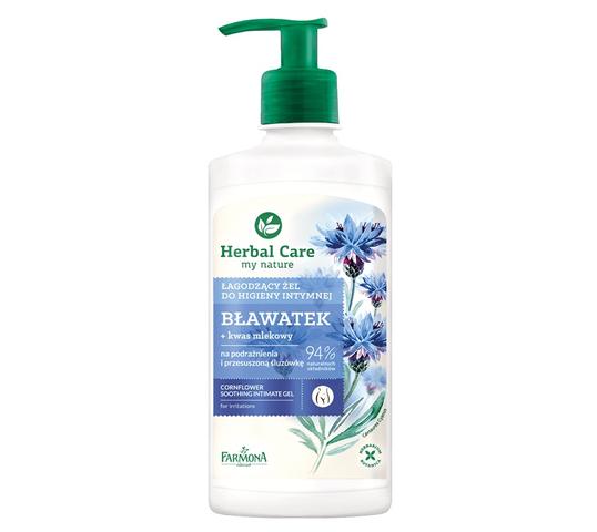 Herbal Care łagodzący żel do higieny intymnej Bławatek (330 ml)