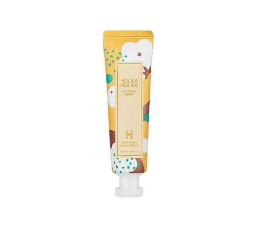 HOLIKA HOLIKA Cotton Bebe Perfumed Hand Cream naiwlżający krem do rąk Bawełna 30ml