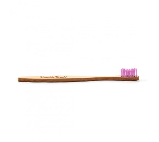 Humble Brush Bambusowa szczoteczka do zębów średnia różowa