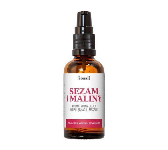 iossi Sezam i Maliny aromatyczny olejek przeciw rozstępom (50 ml)