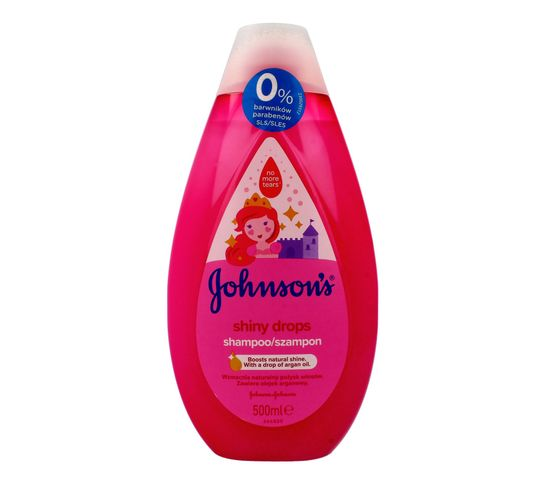 Johnson's Baby Shiny Drops Szampon do włosów dla dzieci 500 ml