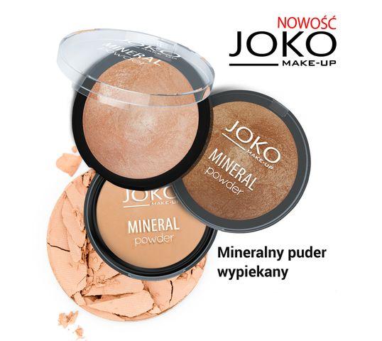 Joko Mineral puder do twarzy spiekany 02 Beige 7,5 g